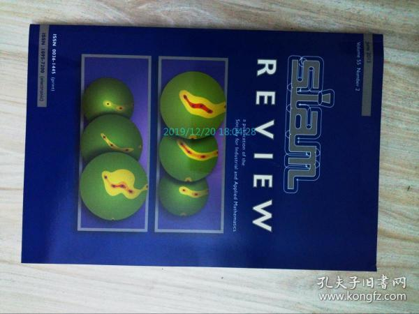 SIAM Review (SIREV)(journal magazine)06/2013 工业与应用数学