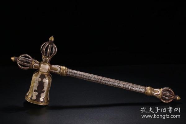 清 藏传法器金刚锤