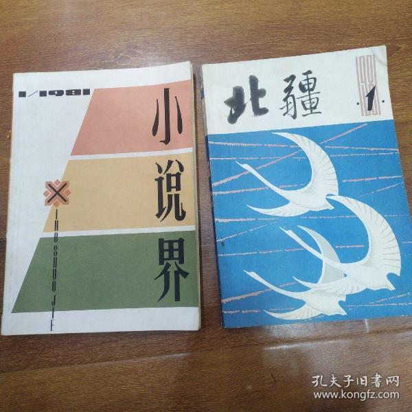 1981年创刊号《小说界》,1981年创刊号《北疆》被揉碎的晨曦