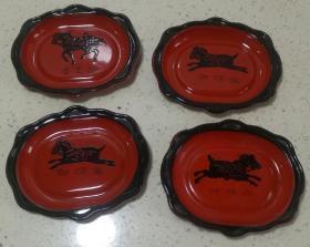 骆驼牌搪瓷茶托盘