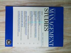 Journal of Management Studies 03/2013 管理学学术论文考研资料