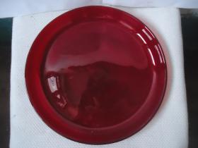 老琉璃盘子