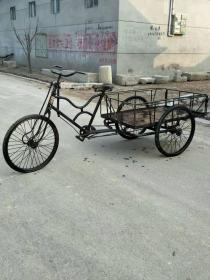 六七十年代人力三轮车 结实牢固 正常使用