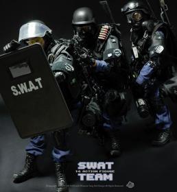 1/6兵人SWAT小队全套3个