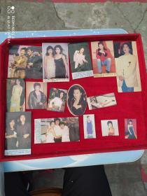 90年代明星剪报卡片119张