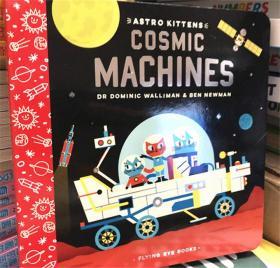 尾单纸板书 Astro Kittens: Cosmic Machines 太空猫:宇宙机器