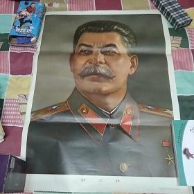 斯大林挂画