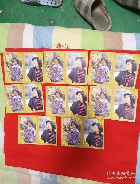 明星歌片,赵娜,詹萍萍,两个人一版,八版合售,以图片为准