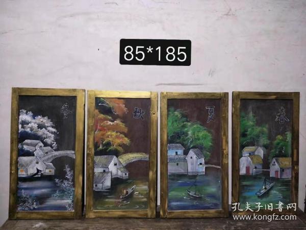 老桶木板匾一套绘画制作,展厅个人收藏茶楼酒店等各种会所摆放装饰……