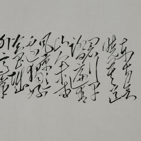 毛体书法 敬书毛主席诗词《清平乐.会昌》xd169