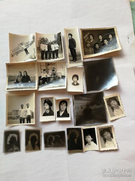 60—70年代老照片及包装袋