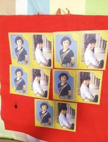 明星歌片,肖雄,刘佳,两个人一版,五版合售,以图片为准