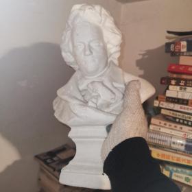 贝多芬石膏像 素描头像雕塑