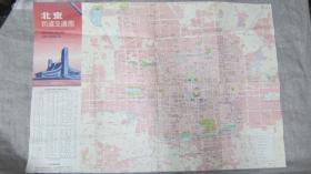 1991年北京街道交通图
