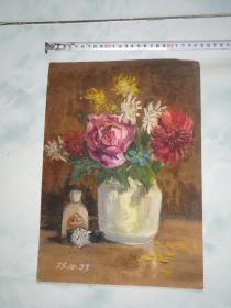 1974年油画