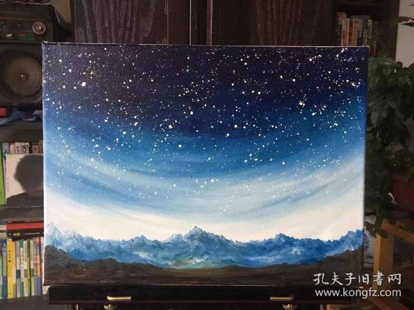 现代油画作品6