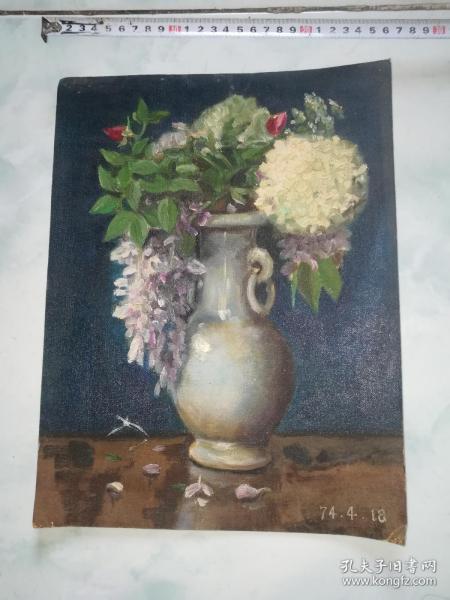 1974.4年油画