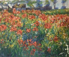 花卉油画c