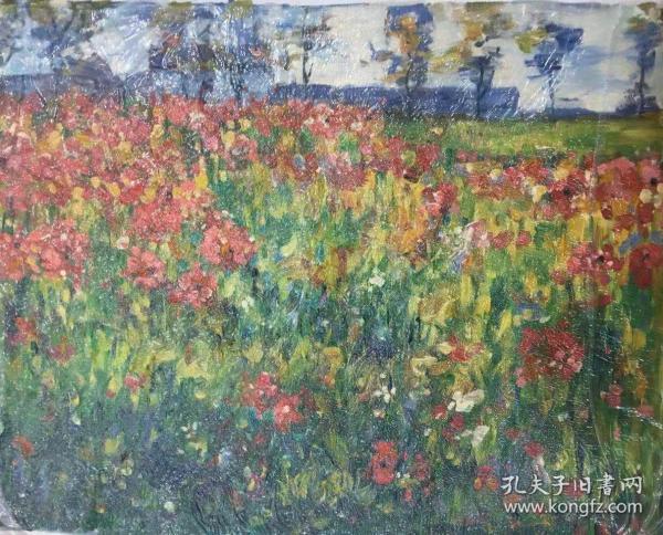 花卉油画k