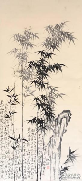 郑板桥        纯手绘        国画(卖家包邮)              工艺品