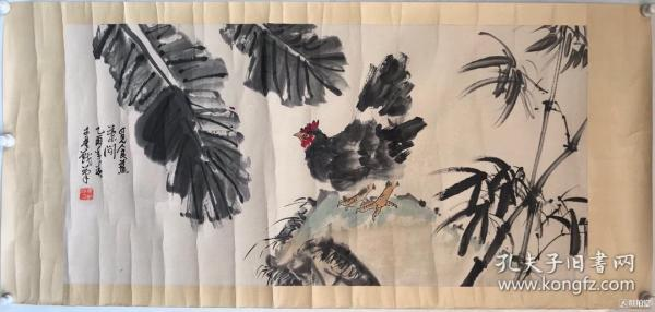 焦可群        纯手绘        国画(卖家包邮)              工艺品