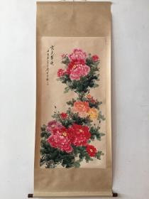 牡丹花 挂画