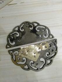 民国铜箱扣