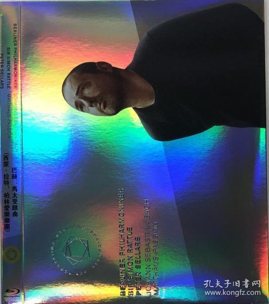 蓝光音乐  巴赫:马太受难曲(西蒙·拉特尔,柏林爱乐乐团)
