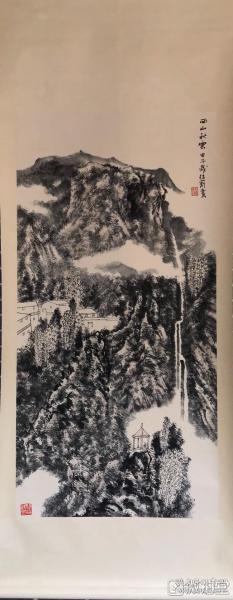 赵卫        纯手绘        国画(卖家包邮)              工艺品