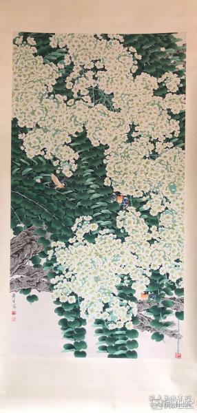 周彦生       纯手绘        国画(卖家包邮)              工艺品