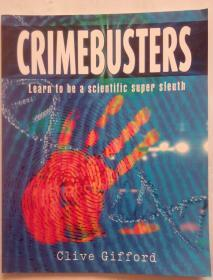 英文原版绘本crimebusters Learn to a scientific super sleuth How Science Fights Crime.如何用科学和犯罪战斗