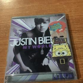 正版CD 贾斯汀.比伯 我的世界2.0