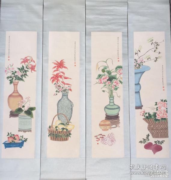 婉容       纯手绘        国画(卖家包邮)              工艺品