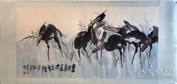 欧阳笃材        纯手绘        国画(卖家包邮)              工艺品
