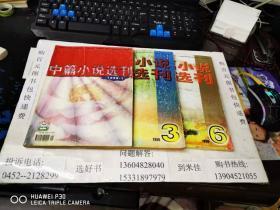 中篇小说选刊 1999年1.3.4.6期4本合售