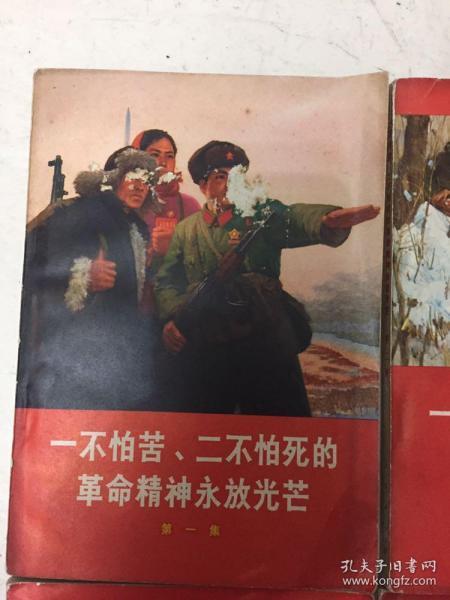 一不怕苦二不怕死、文革、红色书籍