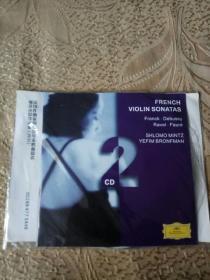 法国作曲家的小提琴奏鸣曲精选 敏茨小提琴演奏(2cd)【光盘测试过售出概不退换】