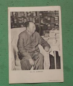 宣传画/伟大领袖毛主席永远活在我们心中/之六十一/毛主席在北京