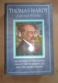 Thomas Hardy Selected Works: THE RETURN OF THE NATIVE / Tess of the D'Urbervilles – 托马斯·哈代选集(含《还乡》《德伯家的苔丝》《哈代短篇小说十种》)原书衣全 品相上佳