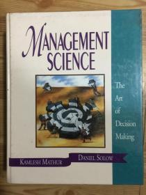 Management Science: The Art of Decision Making/Book and Disk