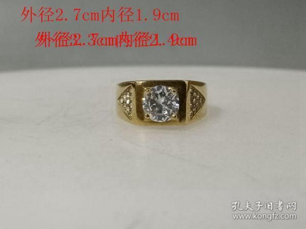 乡下收的镶嵌宝石戒指.0..1.0