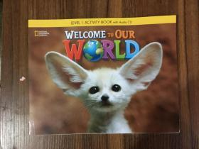 welcome to ourworld level 1 activity book with audio cd 有盘