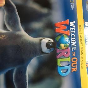 welcome to our world level 2 activity book with audio cd 有盘