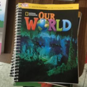 national geographic our world level 3 workbook with audio cd 有盘