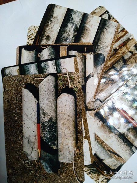 白虎山岩芯照片11张