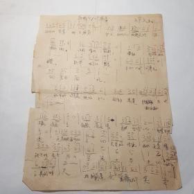 当代著名作家王宗元手稿