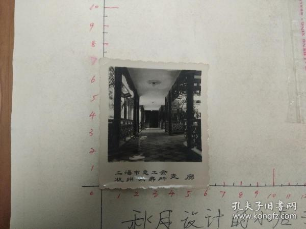 60年代上海总工会杭州休养所风景照-3