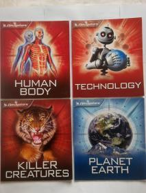 领航者Navigators Killer Creatures / Planet Earth / Technology / Human body 生物杀手/行星地球/科技/人体 四本合售