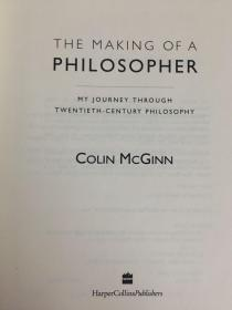 英文原版:The making of a philosopher