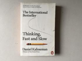 Thinking, Fast and Slow (Paperback,英文原版)